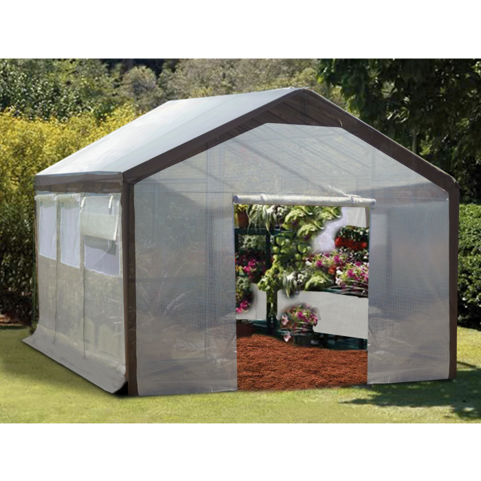 Spring Gardener™ Gable Greenhouse or Cover Set 9'H x 10'W x 20'L