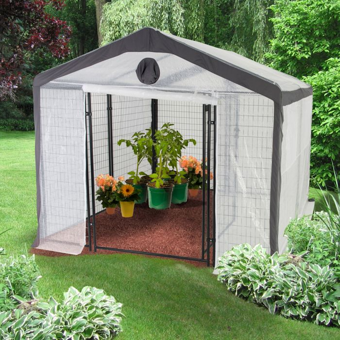 Safe Grow 10' x 10' Secure Greenhouse