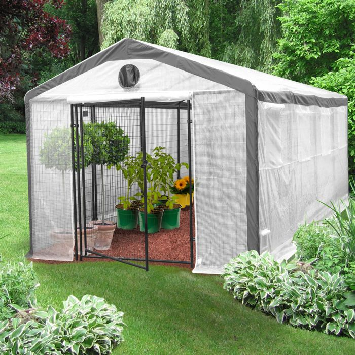 Safe Grow 10' x 20' Secure Greenhouse