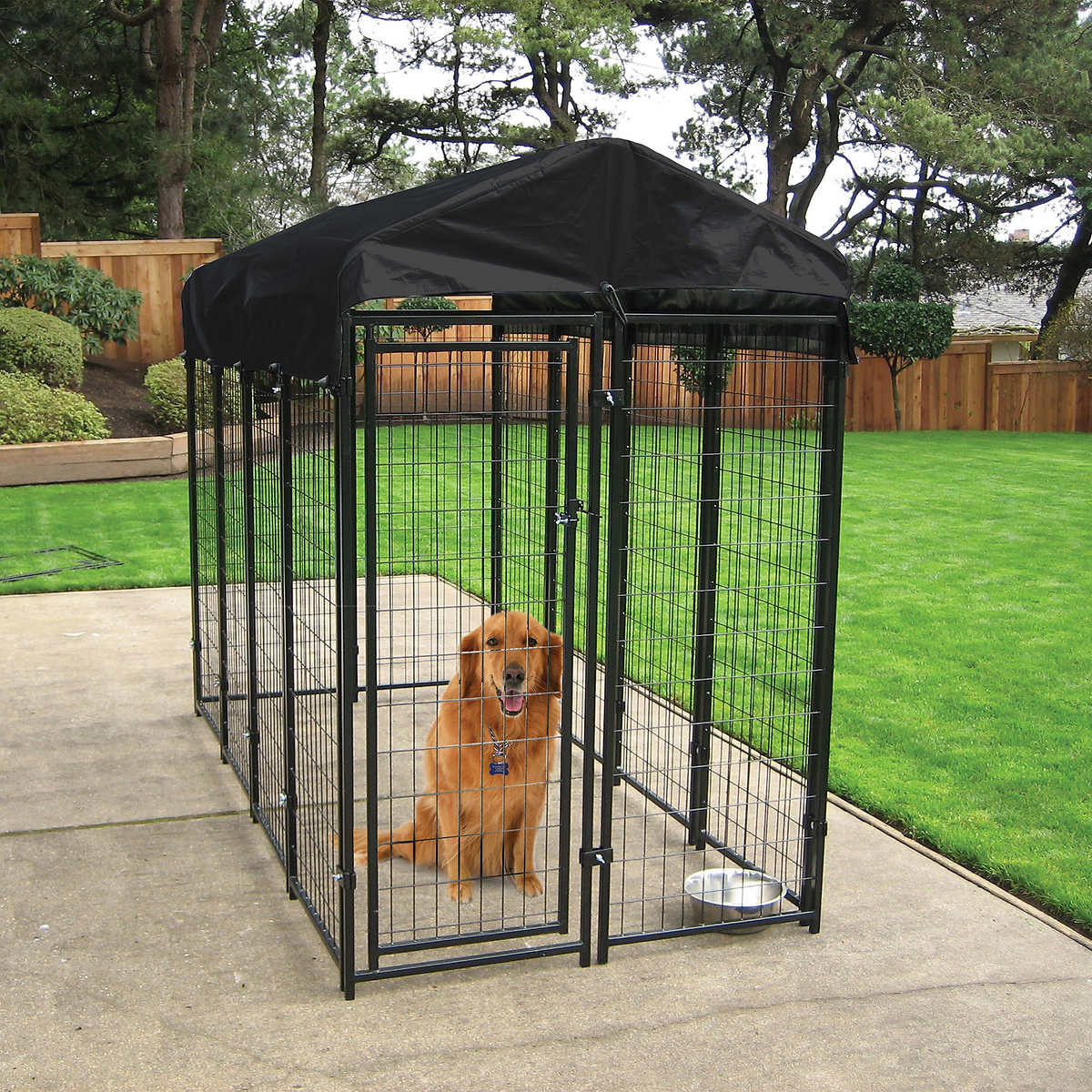 Lucky Dog® Uptown 4' x 4' Kennel